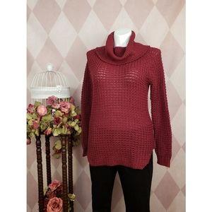 Rue 21 | Maroon Cowl Neck Sweater